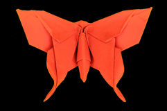 Origami butterfly paper hobby Royalty Free Stock Photography