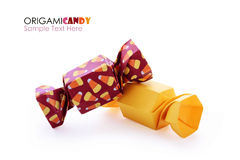 Origami candy group Stock Photos