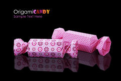 Origami candy group Royalty Free Stock Photography