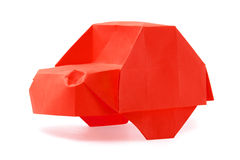 Origami car Royalty Free Stock Photos