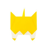 Origami cat Royalty Free Stock Photo