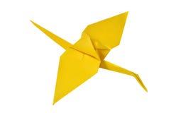 Origami crane Stock Images