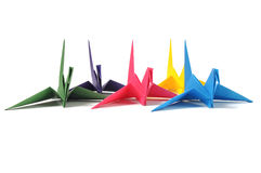 Origami crane Royalty Free Stock Photos