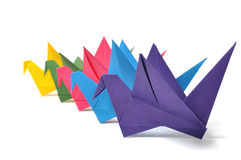 Origami crane Royalty Free Stock Photography