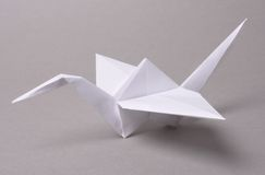 Origami crane Stock Photography