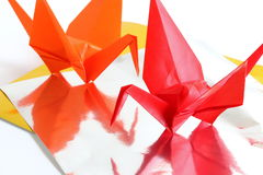 Origami Crane Stock Photos