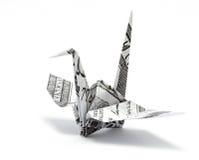 Origami crane Royalty Free Stock Photography
