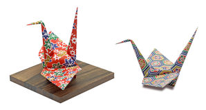 Origami cranes Royalty Free Stock Photo