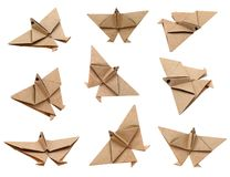 Origami cranes Stock Photos