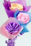 Origami de flores Fotos de archivo libres de regalías