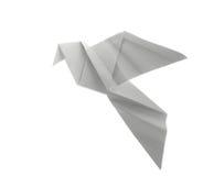 Origami de la paloma Foto de archivo