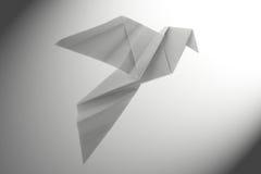 Origami de la paloma de la paz Fotografía de archivo