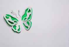 Origami de papillon Photographie stock libre de droits