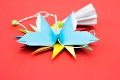 Origami de papillon Images stock