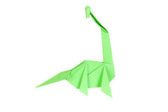 Origami dinosaur Royalty Free Stock Photo