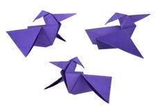 Origami dinosaurus Stockfoto