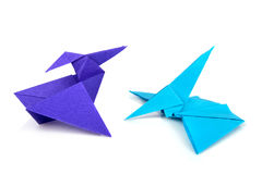 Origami dinosaurus Royalty Free Stock Photography