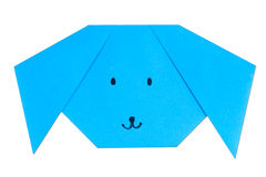 Origami dog Royalty Free Stock Images