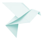 Origami dove Royalty Free Stock Photo