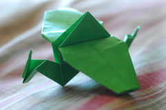 Origami Dragon Royalty Free Stock Images