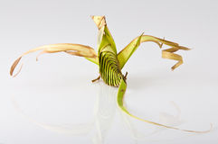 Origami dragon Stock Images