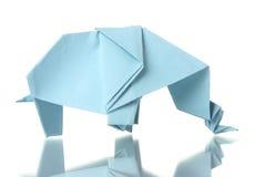 Origami elephant Stock Photography