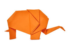 Origami elephant Royalty Free Stock Photo