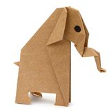 Origami elephant Royalty Free Stock Photos