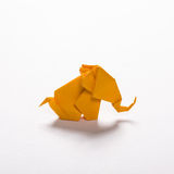 Origami elephant 2 Royalty Free Stock Image