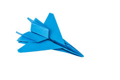 Origami F-15 Eagle Jet Fighter airplane Stock Images