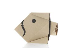 Origami fish Stock Photos