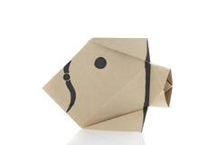 Origami fish Stock Photos