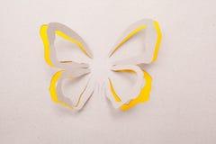 Origami fjäril Arkivfoton