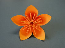Origami flower Royalty Free Stock Image
