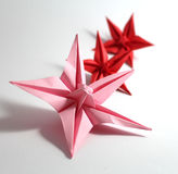 Origami flower Royalty Free Stock Photography