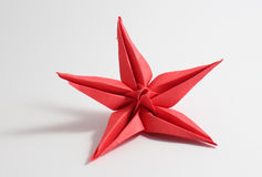 Origami flower Royalty Free Stock Images
