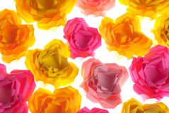Origami flower background Royalty Free Stock Images