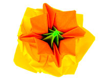 Origami flower bud Royalty Free Stock Photo