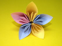 Origami flower Royalty Free Stock Photos