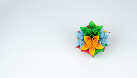 Origami flower. In multiple colors Stock Photos