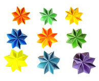 Origami flowers Stock Image