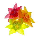 Origami flowers Stock Photos