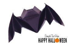 Origami flying bat Stock Photos