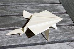 Origami frog Stock Photo
