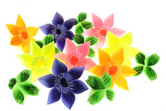 Origami garden Stock Photography