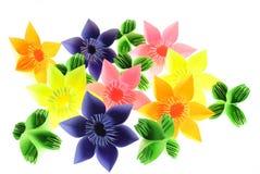 Origami garden stock photography