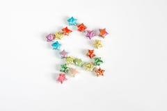 Origami gwiazda Obraz Royalty Free
