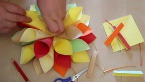 Origami handmade zdjęcie wideo
