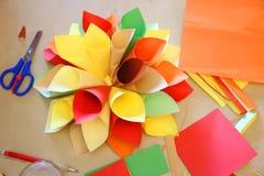 Origami handmade Stock Photo
