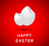 Origami happy easter card Royalty Free Stock Photography